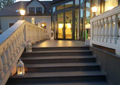 Wejście od strony Parku